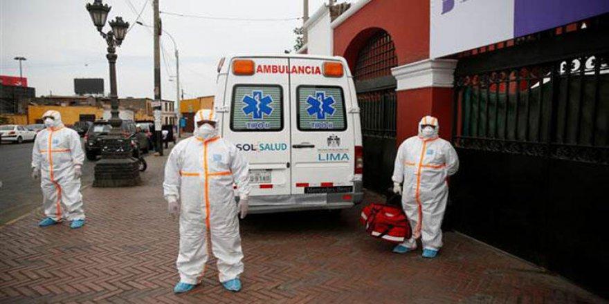 Latin Amerika'da Kovid-19 Vaka Sayısı 1 Milyonu Geçti