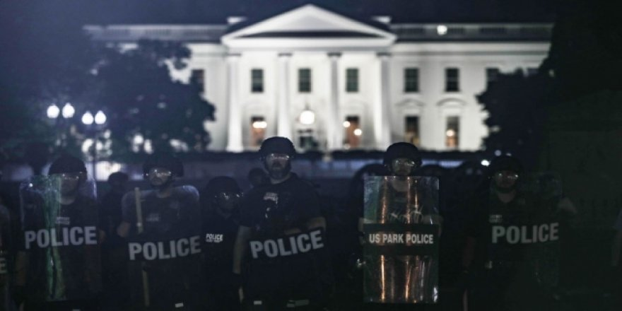 Washington'da Gösteriler Nedeniyle Sokağa Çıkma Yasağı