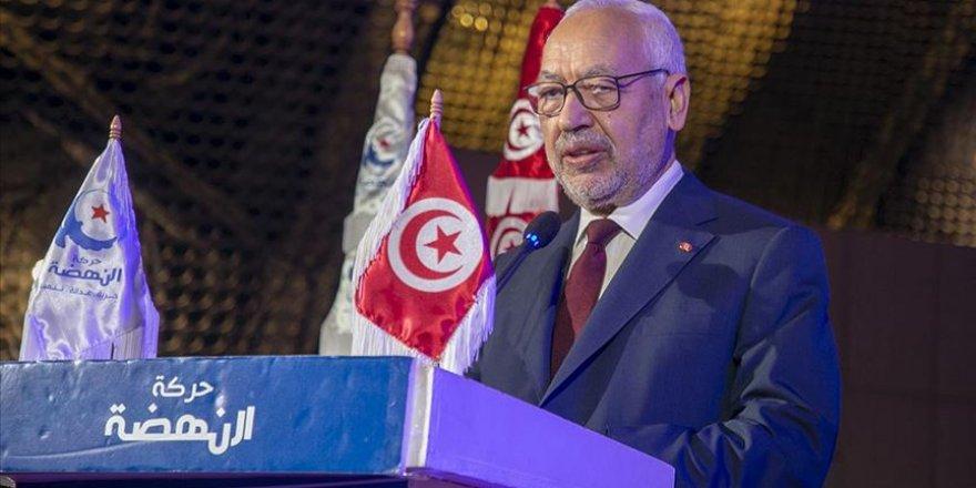 """Gannuşi: """"Tunus Devrimine Karşı Olanlar Tarihle Zıtlaşıyor"""""""