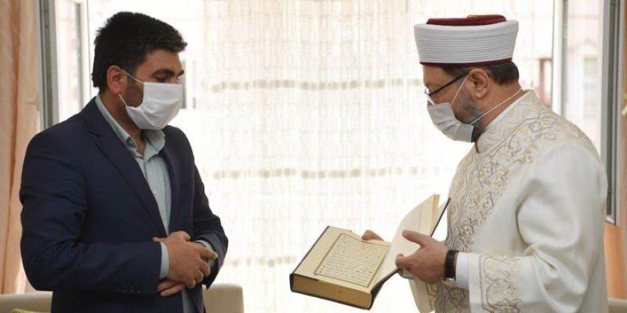 Diyanet İşleri Başkanı Erbaş'tan Barış Çakan Açıklaması: Evladımız İnşallah Şehittir