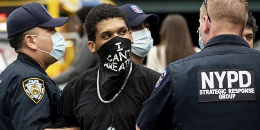 ABD'de Floyd İçin Düzenlenen Gösterilerde Gözaltı Sayısı 10 Bini Geçti