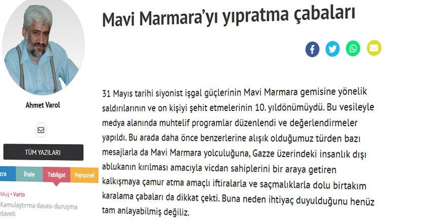 Haklı ve Onurlu Bir Yolculuk Mavi Marmara'nın 10'uncu Yılını Geride Bırakırken