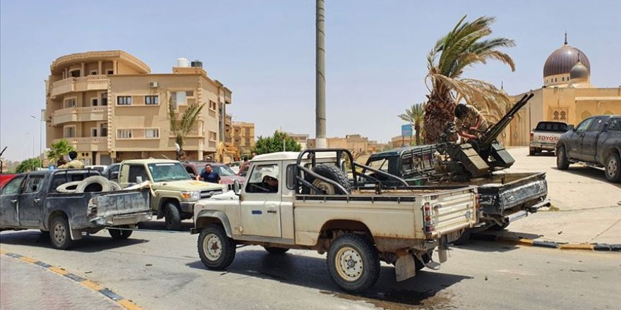 Libya Ordusu Darbeci Hafter ve Destekçilerine Karşı Yeni Bir Harekat Başlattı