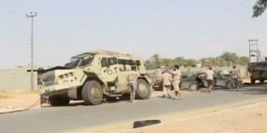 Libya Ordusu Sirte Kentinde Kontrolü Sağladı