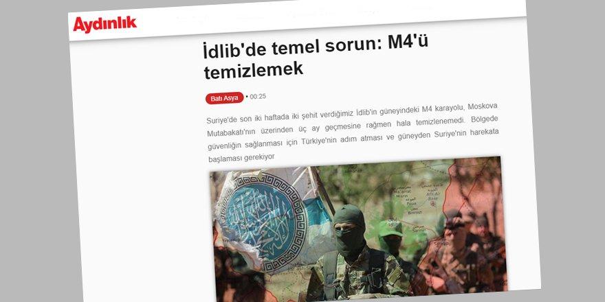 Aydınlık, Türkiye ile Esed Rejimi ve Rusya'yı Aynı Cephede Buluşturma Hülyasında