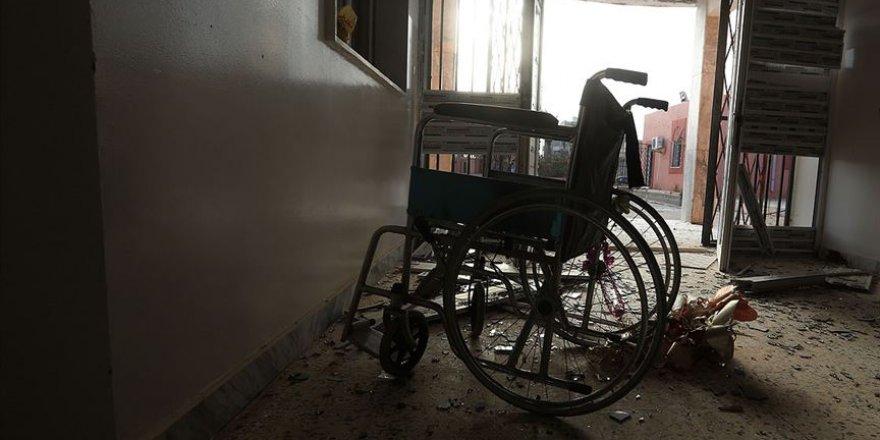BAE'ye Ait SİHA'lar Misrata'da Bir Hastaneyi Bombaladı