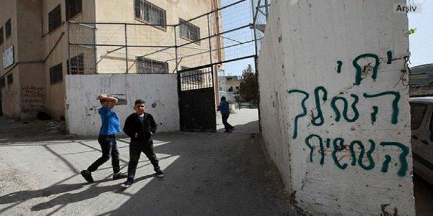İşgalcilerden Batı Şeria'da Irkçı Saldırı