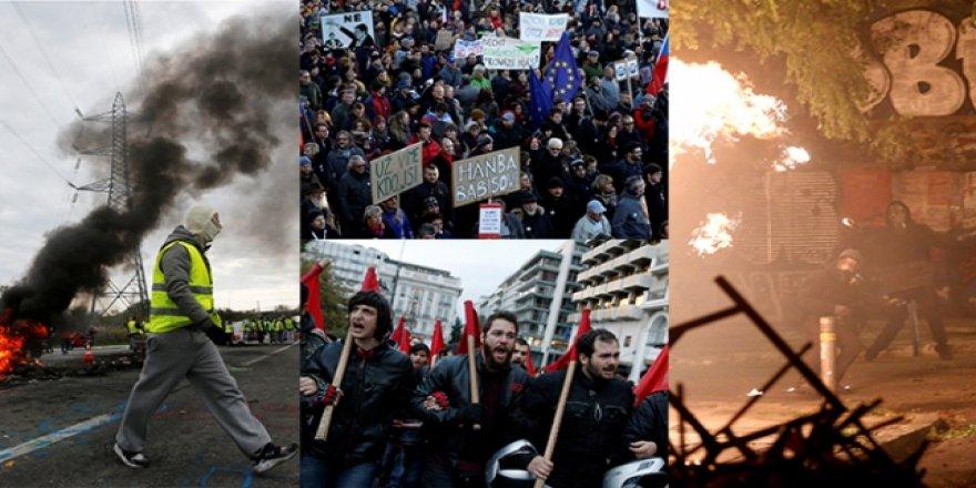 Avrupa Medyası George Floyd Cinayeti İle Avrupa'daki Gösterileri Tartışıyor