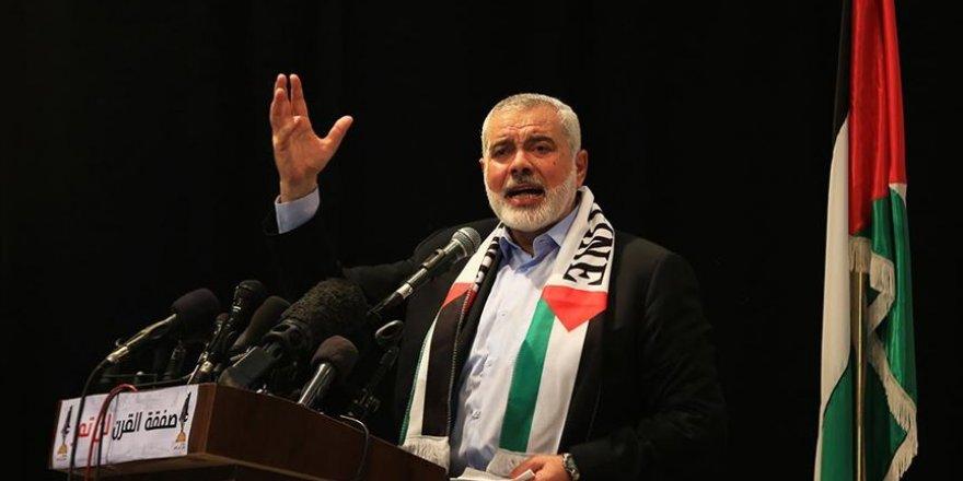 Hamas Liderinden Arap ve İslam Ülkelerine 'İsrail'in İlhak Planıyla Mücadele' Çağrısı