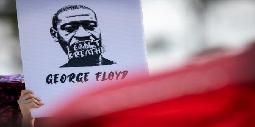 George Floyd Toprağa Verildi