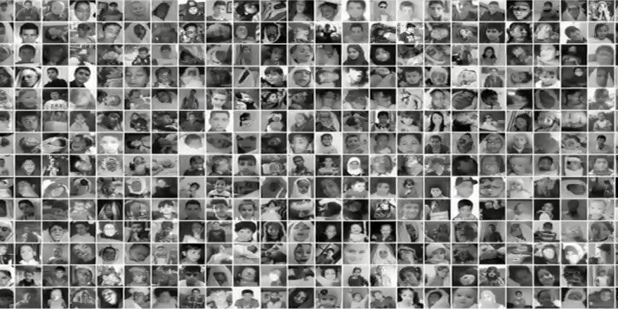 Esed Rejiminin Katlettiği 5 Bin Çocuğun Fotoğrafı Yayımlandı