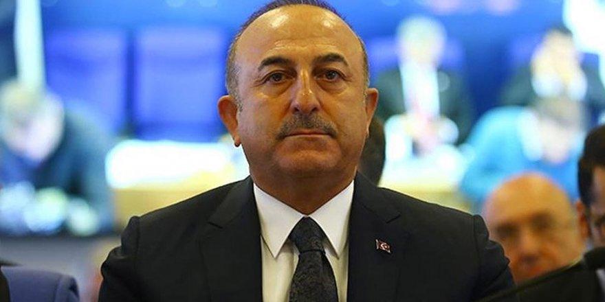 Çavuşoğlu: Hafter'in Masada Olmaması Lazım