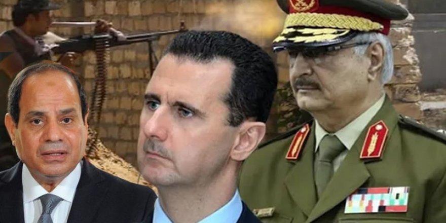 Katil Esed'den Hafter ve Sisi'ye Destek