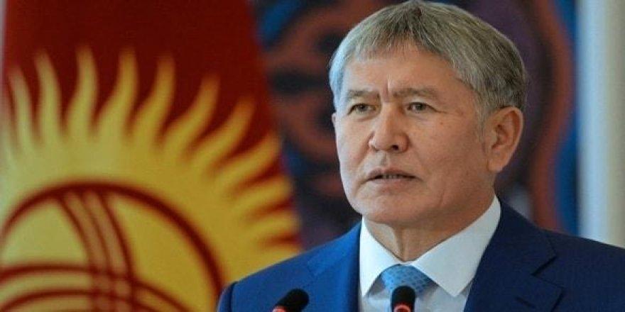 Kırgızistan Eski Cumhurbaşkanı Atambayev'e 11 Yıl 2 Ay Hapis Cezası