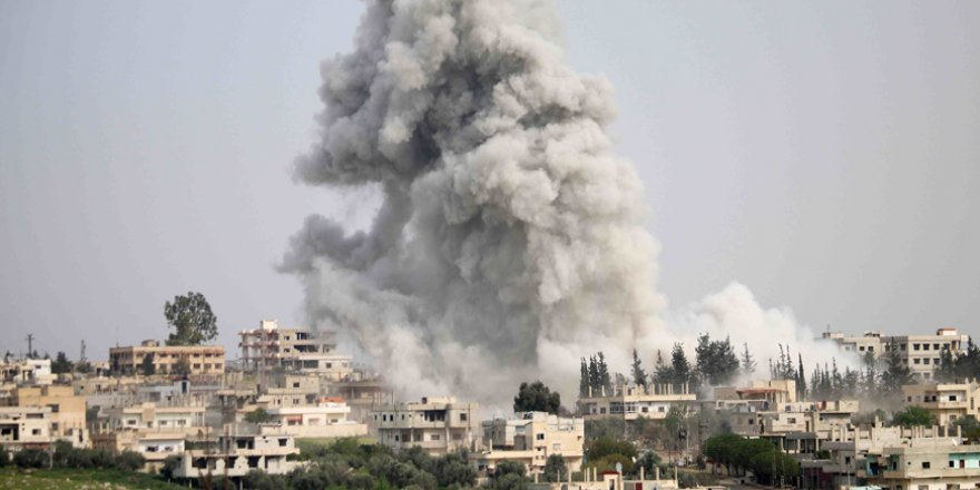 Rusya ve Esed Rejimi İdlib'i Bombalıyor