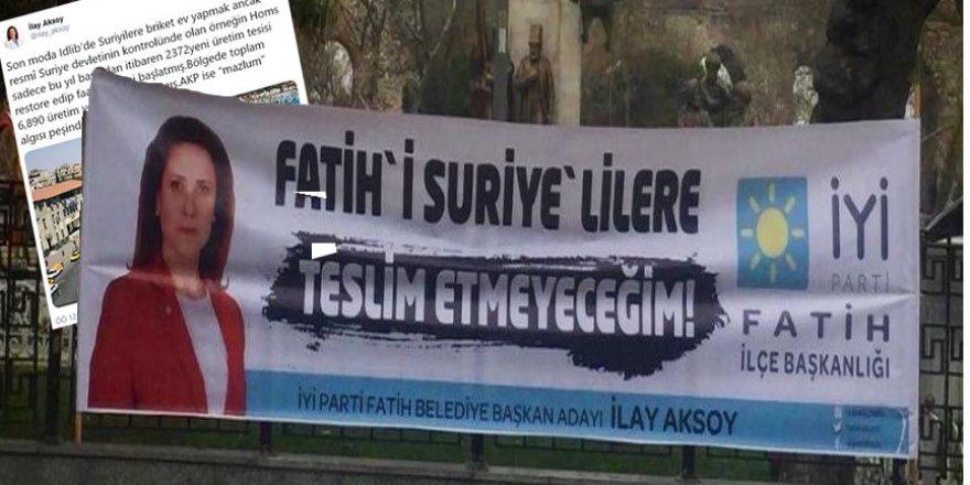 'Kötü Parti'li İlay Aksoy Esed Rejiminin Propagandasını Sürdürüyor!