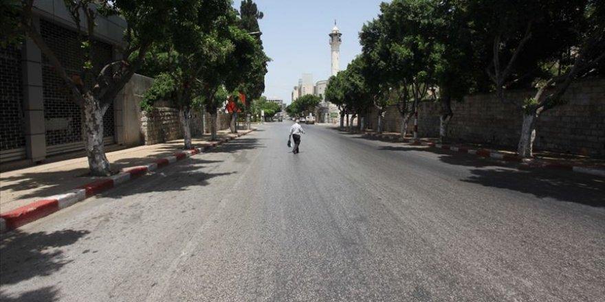 Batı Şeria'da 5 Gün Boyunca Genel Karantina Uygulanacak