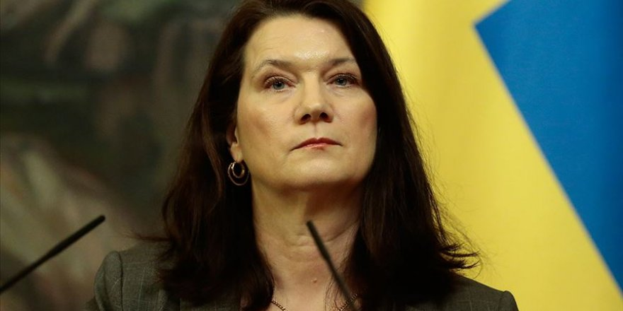 İsveç Dışişleri Bakanı Linde İsrail'e Baskının Sürdürülmesini İstedi