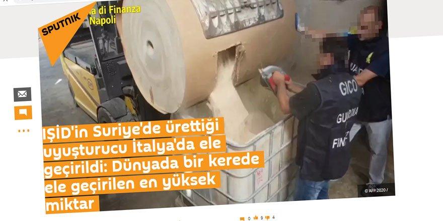 Esed Rejimi Uyuşturucu Üretip Satıyor, Sputnik Faturayı İŞİD'e Kesiyor!