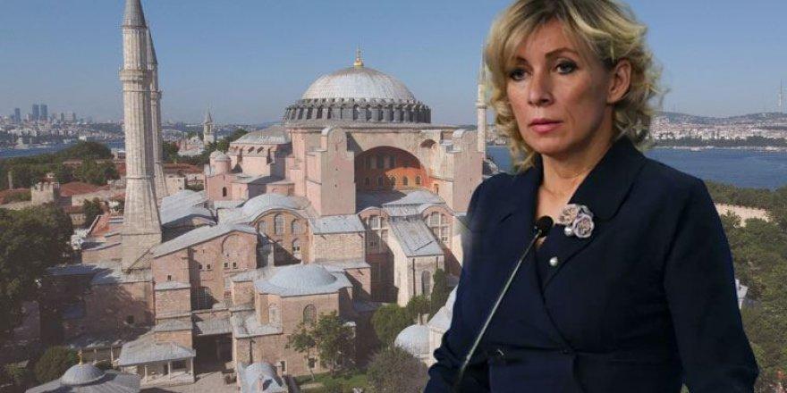 Koskoca Kırım'ı İlhak Eden Rusya Ayasofya İçin Türkiye'yi Uyarmış!