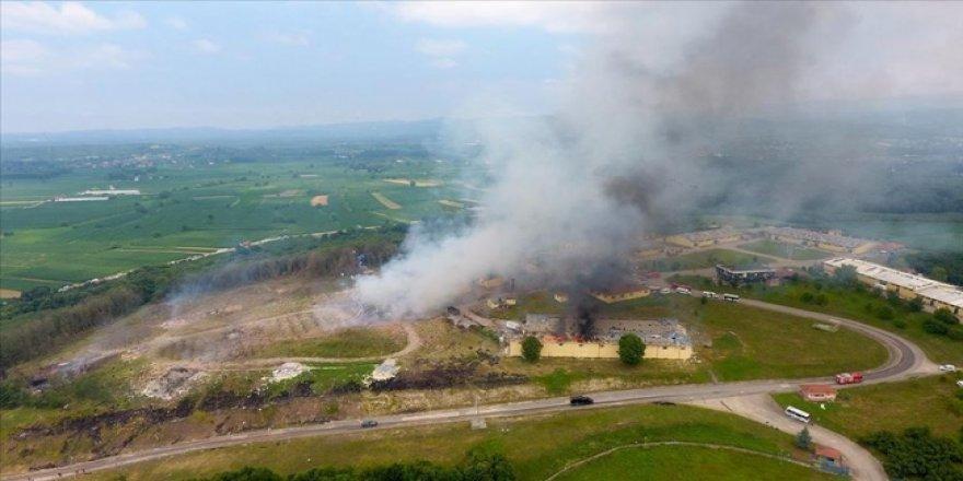 Sakarya'da Havai Fişek Fabrikasındaki Patlamada 2 Ölü 74 Yaralı