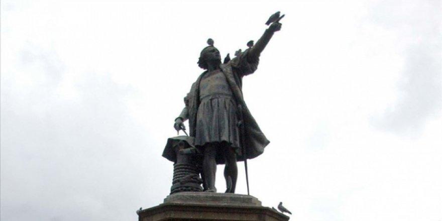 Columbus'taki Kristof Kolomb Heykeli Kaldırıldı