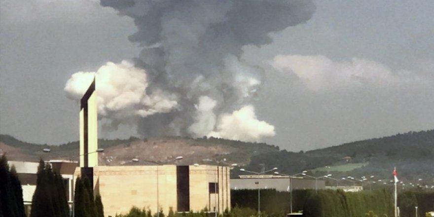 AFAD: Patlamanın Meydana Geldiği Fabrikada Radyasyon Kaynağı Bulunmamaktadır