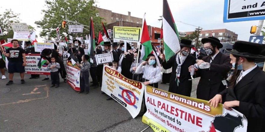 İsrail'in İlhak Planı New Jersey'de Protesto Edildi