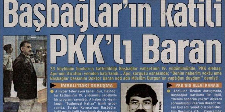 HDP, Öcalan'ın Üstlendiği Başbağlar Katliamının Faillerini Arıyor