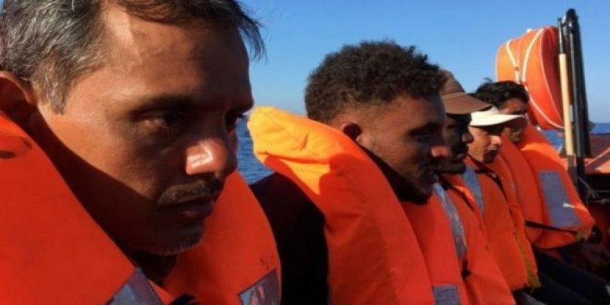 İtalya: Yardım Gemisinde Mahsur Kalan 180 Mülteciye İniş İzni Verildi