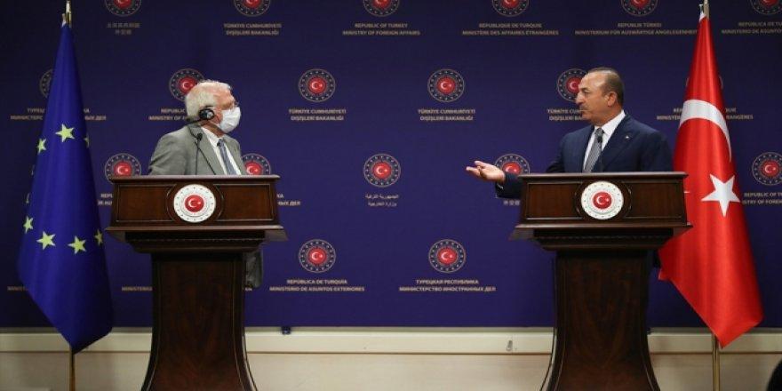 Çavuşoğlu: AB'den Beklentimiz Sorunun Tarafı Olmak Yerine Çözümün Tarafı Olması
