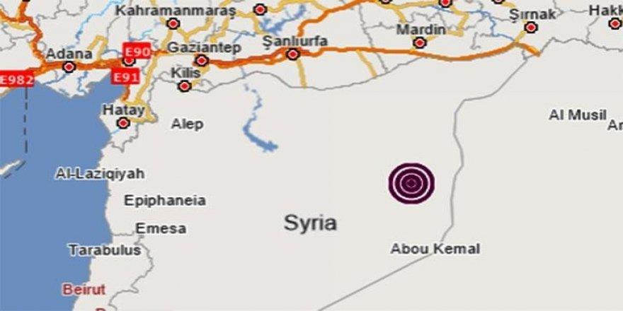 Suriye'de Deprem