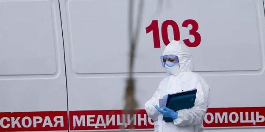 Rusya'da Ölü Sayısı 10 Bin 296'ya Yükseldi