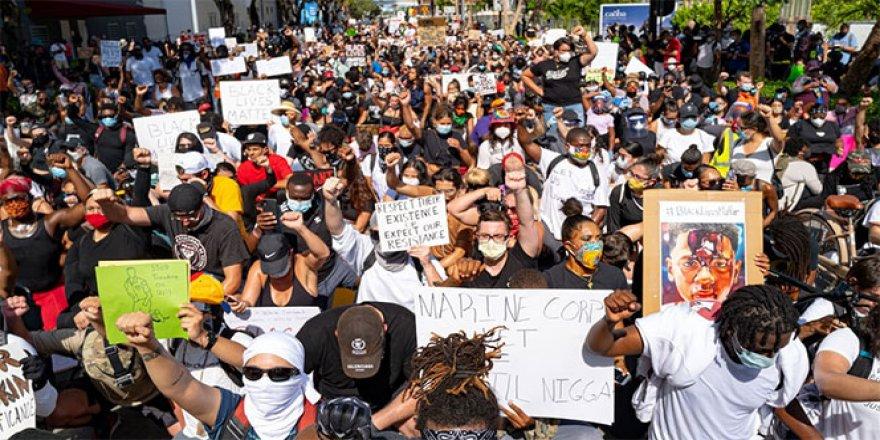 ABD'de Protestoculara Çarpan Sürücüye 1,2 Milyon Dolar Kefalet Talebi