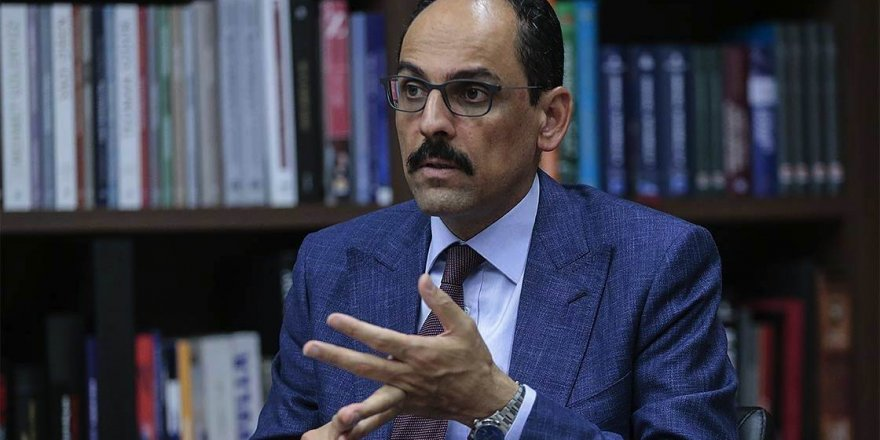 Cumhurbaşkanlığı Sözcüsü Kalın'dan 'İsrail-BAE anlaşması'na tepki