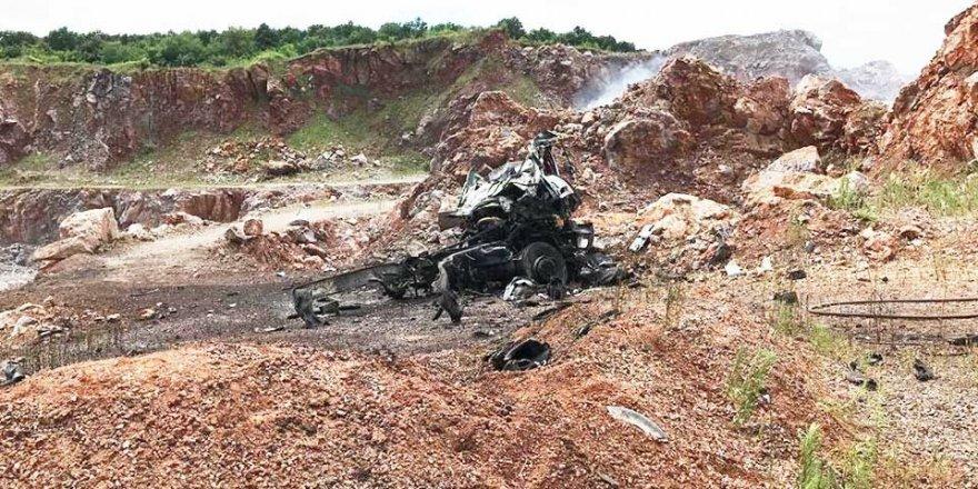 Sakaryada'ki İkinci Patlamada Detay: Patlayıcıları Çakıl Kamyonuna Yüklemişler
