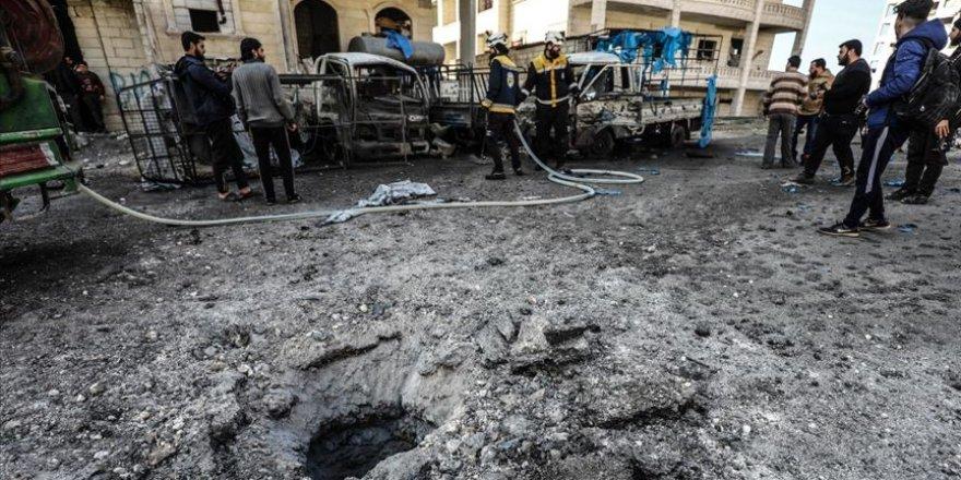 İdlib'e Saldıran Katil Esed Rejimi Savunmasız İki Sivili Katletti!