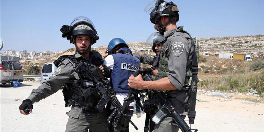 Filistinli Gazeteciler Sendikası, Batı Şeria'da AA Muhabirinin Alıkonulmasını Kınadı