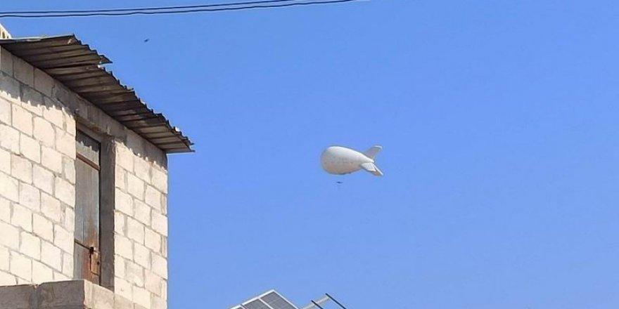Türkiye'nin Gözetleme Balonu 'Karagöz' İdlib Semalarında
