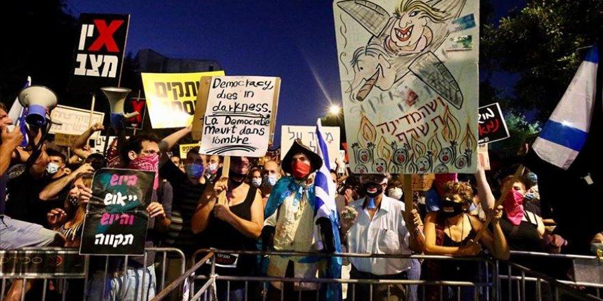 İsrail'de Netanyahu Karşıtı Gösteriler Artarak Devam Ediyor