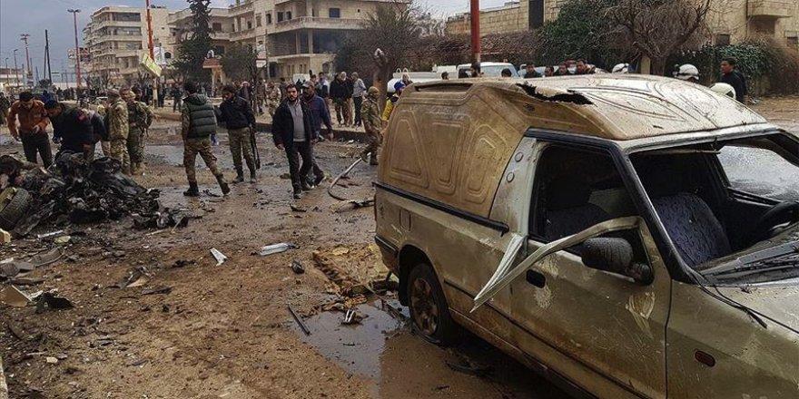 Afrin'de Saldırı: 13 Yaralı