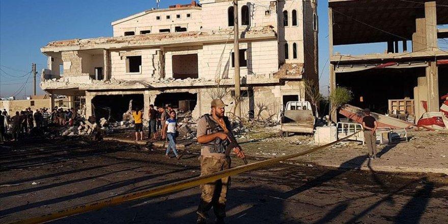 Azez'de Saldırı: 5 Ölü, 85 Yaralı