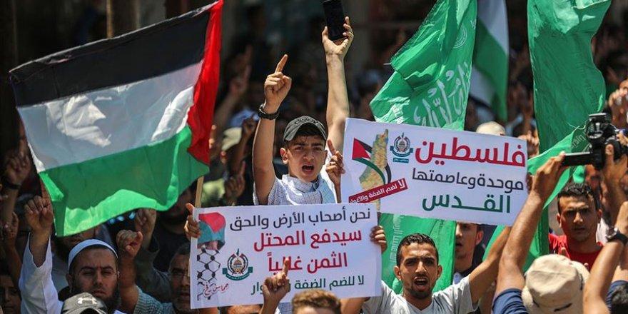Fetih ve Hamas'tan İsrail'in İlhak Planına Karşı Ortak Gösteri Düzenleme Kararı