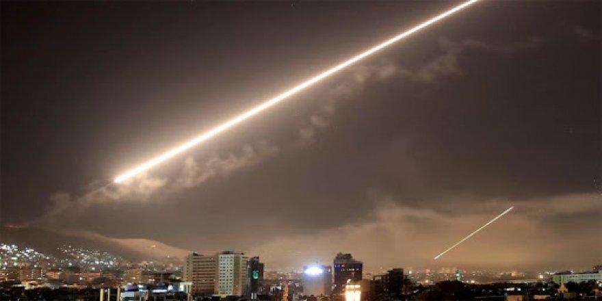 Siyonist İsrail'den Esed ve İran Güçlerine Saldırı
