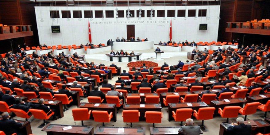 20 milletvekiline ait 22 fezleke Meclis'te