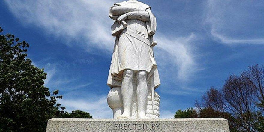 ABD'de bir Kristof Kolomb heykeli daha kaldırılıyor