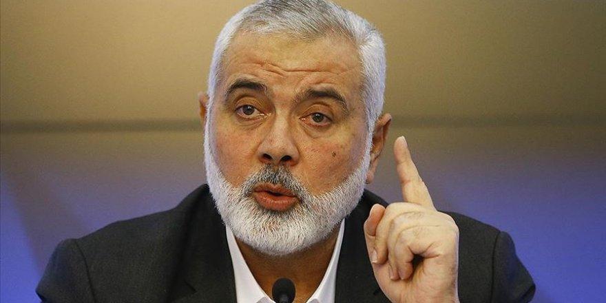 Heniyye: Hamas direnişten vazgeçmeye karşılık sunulan 15 milyar dolarlık teklifi reddetti