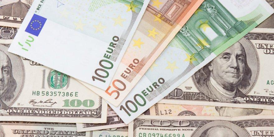 Dolar 6,96'yı, Euro 8,21'i gördü