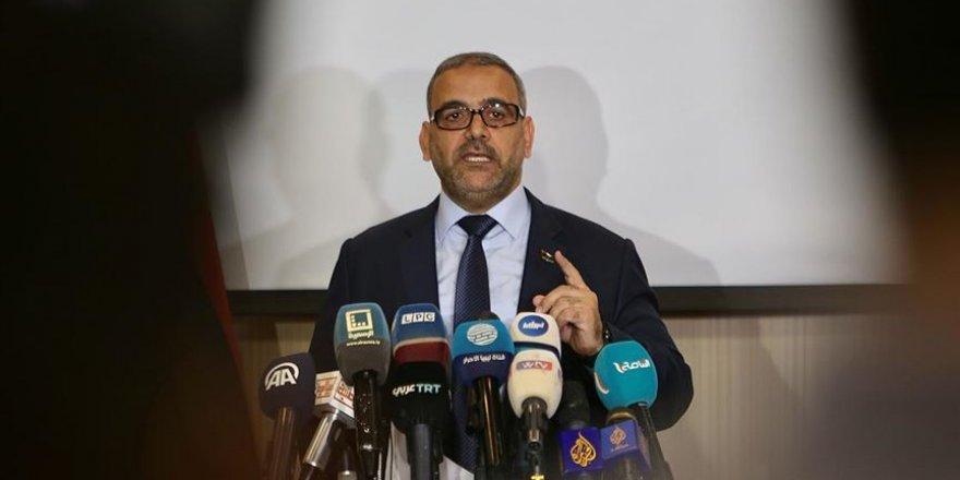 Libya Devlet Yüksek Konseyi Başkanı Mişri: Türkiye ile net bir anlaşma yaptık