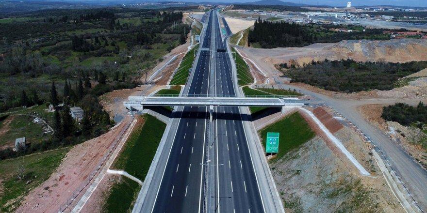 Bayramda Kuzey Marmara Otoyolu'nun bir kısmı ulaşıma açılacak